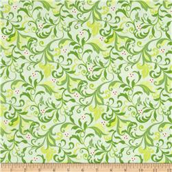 Feathers & Flourishes Flourish Scroll Lime