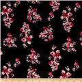 Ponte de Roma Neutral Flowers Black