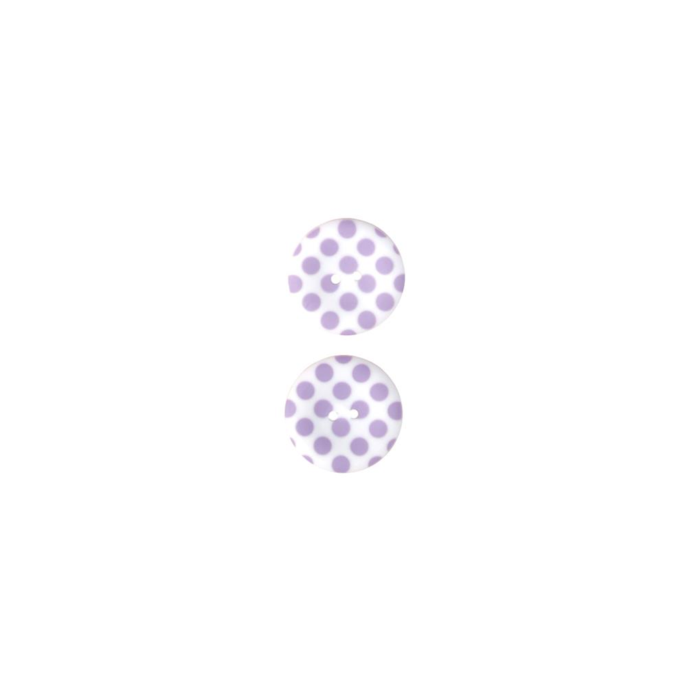 Riley Blake Sew Together 1 1/2 Matte Button Dots Lavender