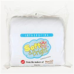 Soft & Bright Polyester Batting (120'' x 124'') King Size
