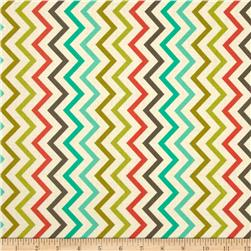Michael Miller Mini Chic Chevron Retro Fabric