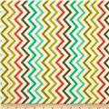 Michael Miller Mini Chic Chevron Retro