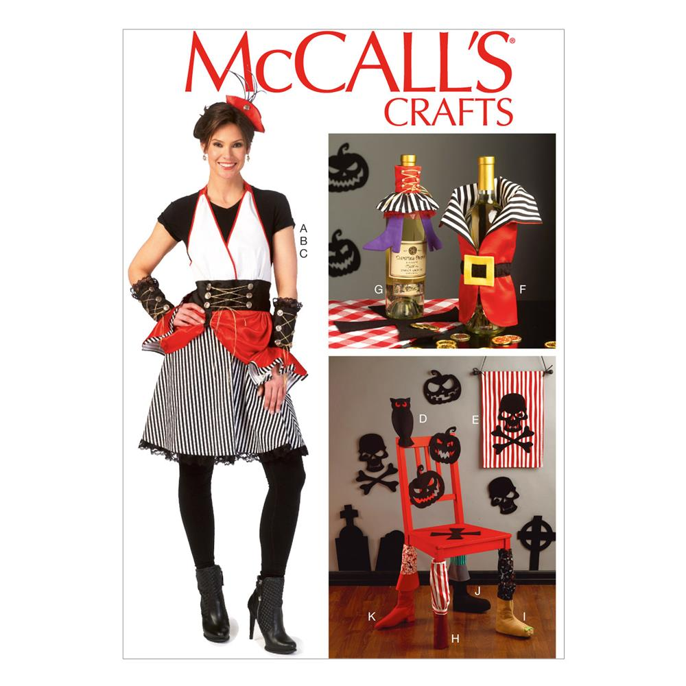 McCall's Apron, Gauntlets, Hat, Banner Decorations Pattern M7005 Size MIS