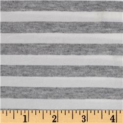 Designer Small Stripe Grey/White