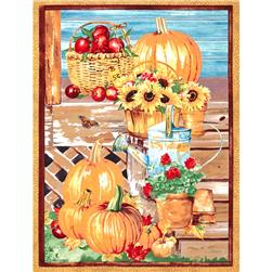 Farmers Market 24 In. Harvest Panel Multi