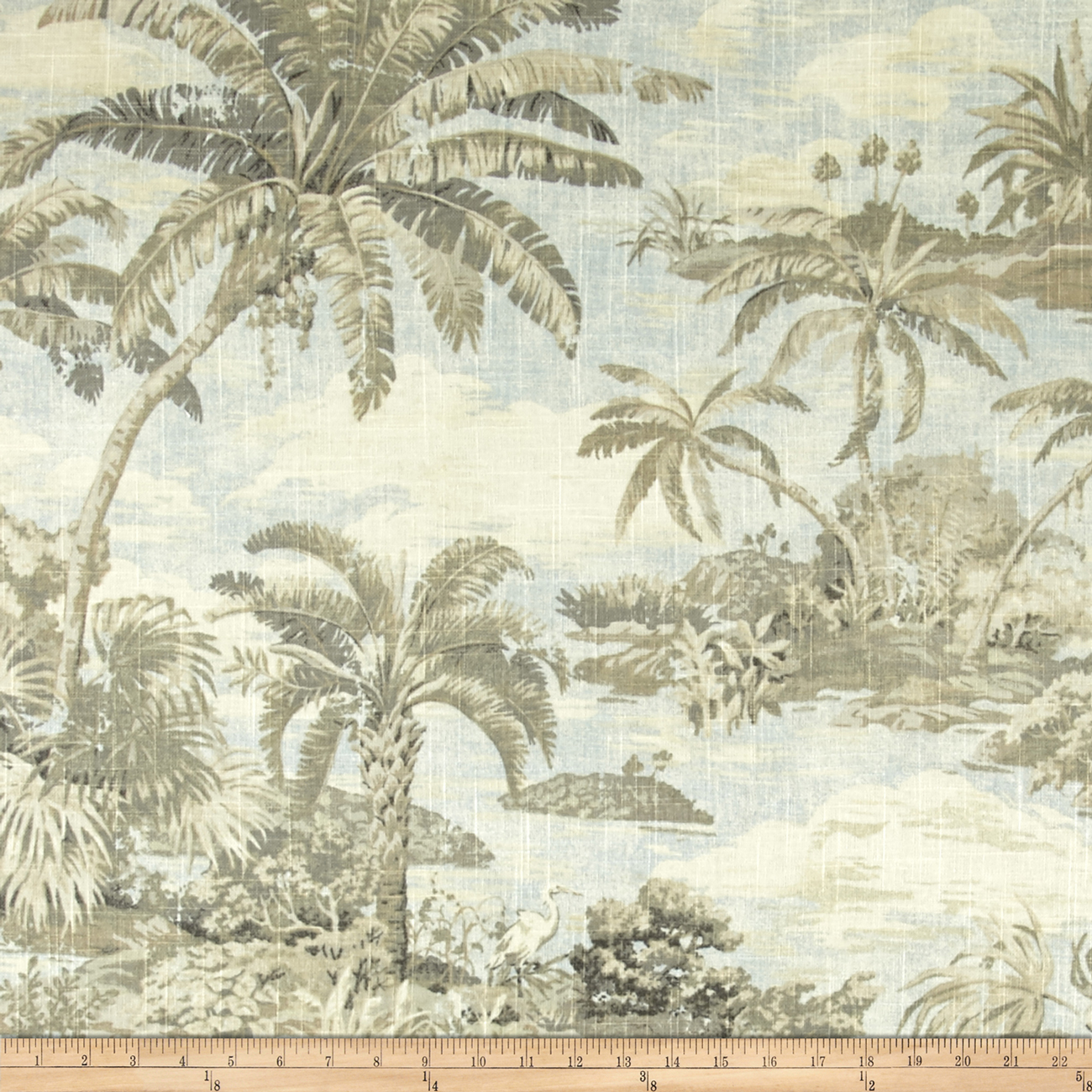 Tommy Bahama Home Dec Scenic Beauty Sunsplash Fabric by Waverly in USA