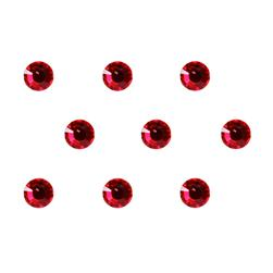 4mm Swarovski Light Siam Red 24pc