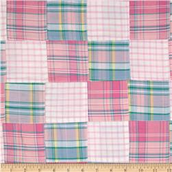 Madras Plaid Pink/White/Green