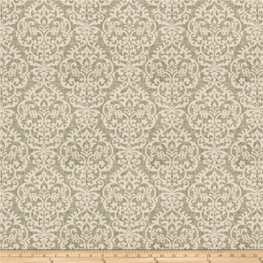 Fabricut Scoop Ikat Barkcloth Mint