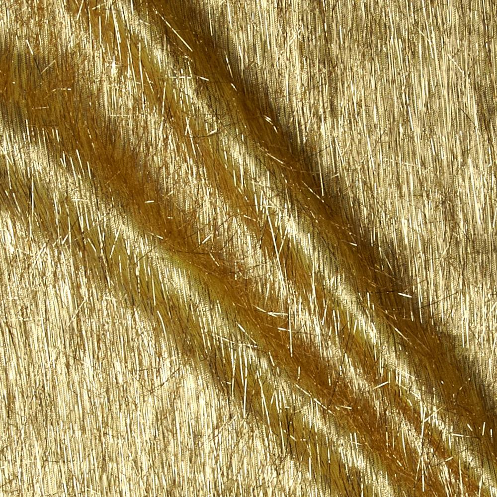Long Hair Metallic Eyelash Gold