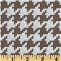 Michael Miller Everyday Houndstooth Mud