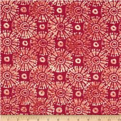 Home Accents Koi Slub Fuchsia Fabric