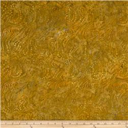Batavian Batiks String of Dots Gold