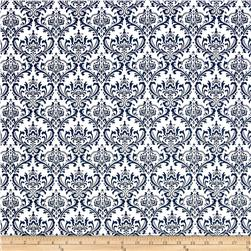 Premier Prints Madison White/Navy