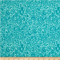 Riley Blake Summer Breeze Flannel Splash Blue