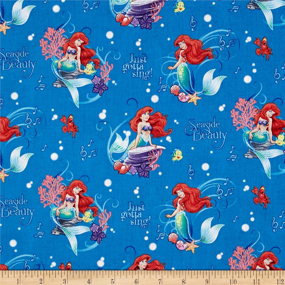 Disney Little Mermaid Musical Scenic Blue