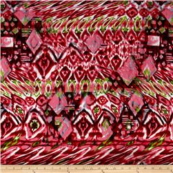 Urban Chic Geo Ikat ITY Knit Pink/Green