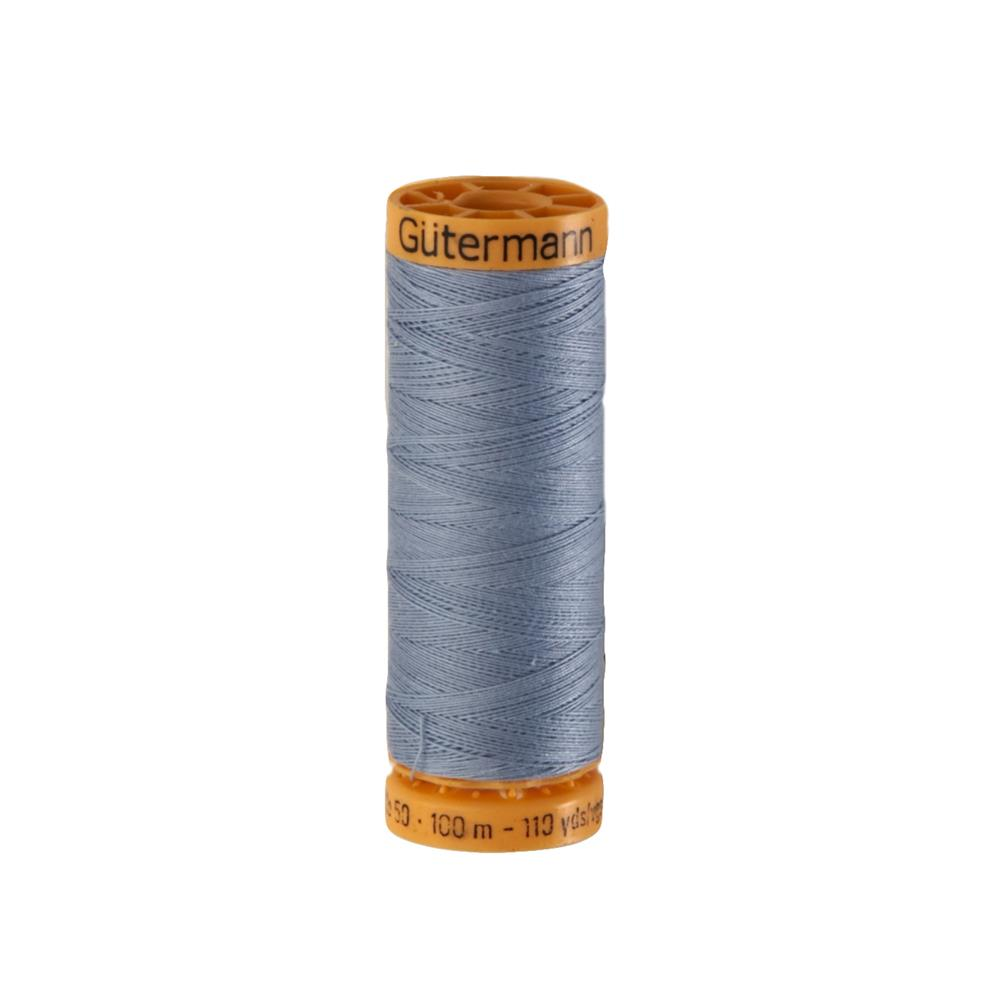 Gutermann Natural Cotton Thread 100m/109yds Chambray