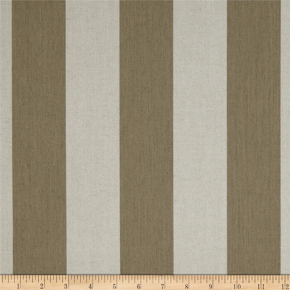 Sunbrella Outdoor Maxim Stripe Heather Beige