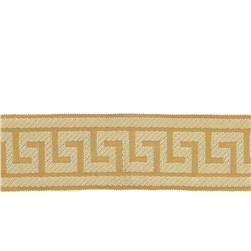 "Fabricut 2.625"" Athens Key Trim Gold"