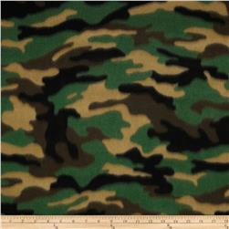 Boys Rock Fleece Camouflage Green/Black