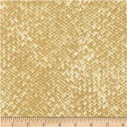 Kanvas Sunflower Fields Metallic Basketweave Wheat