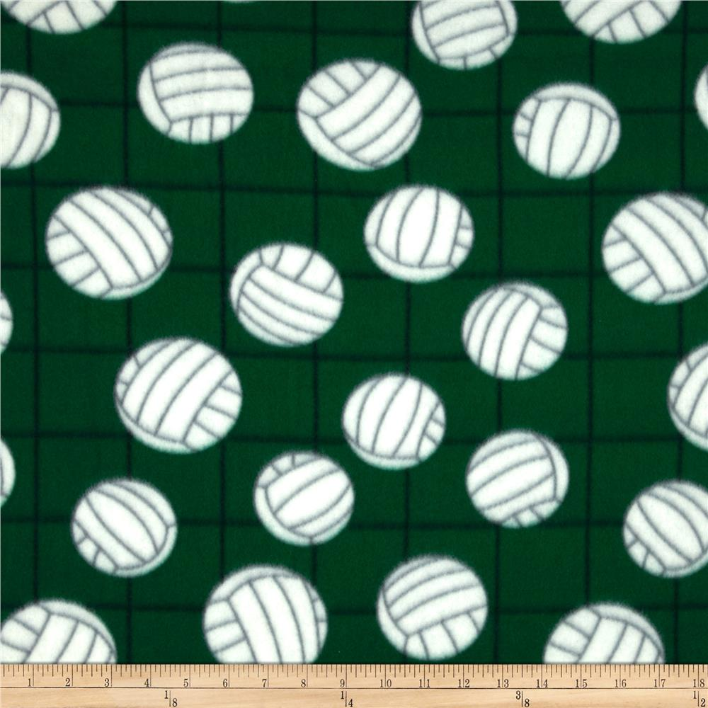 Fleece Volleyball Green