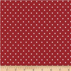 Timeless Treasures Polka Dots Red
