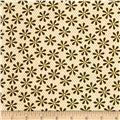 Metallic Lace Metallic Daisy Ivory/Gold