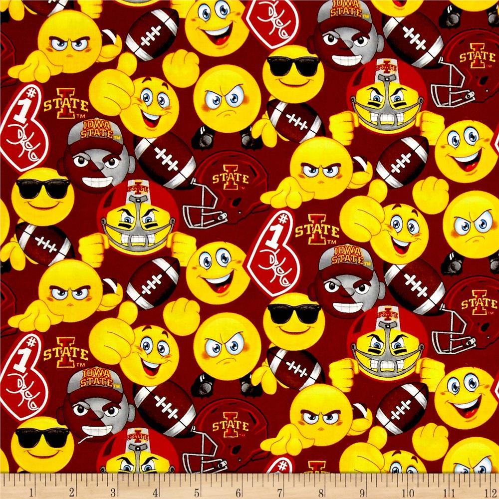 Collegiate Cotton Iowa State Emoji