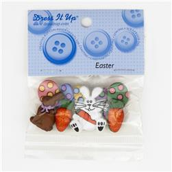 Dress It Up Embellishment Buttons  Mm Easter