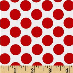 Peppermint Penguin Dot Red