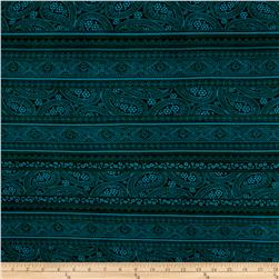 ITY Stretch Knit Ventura Abstract Chic Green