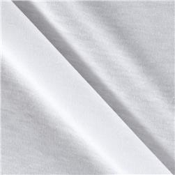 White Collection Cotton Tissue Jersey Knit White