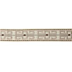 "Decorative Trim 1 1/2"" Greek Key Braid Natural/Chocolate"