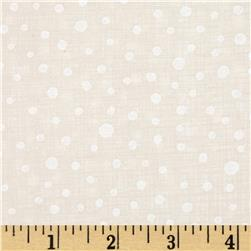 Moda Winterberry Snowy Dots Snow