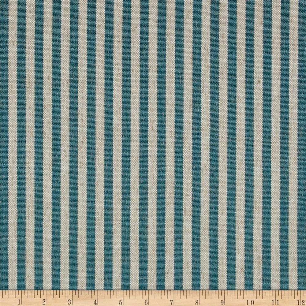 Golding by P/Kaufmann Scout Stripe Canvas Teal
