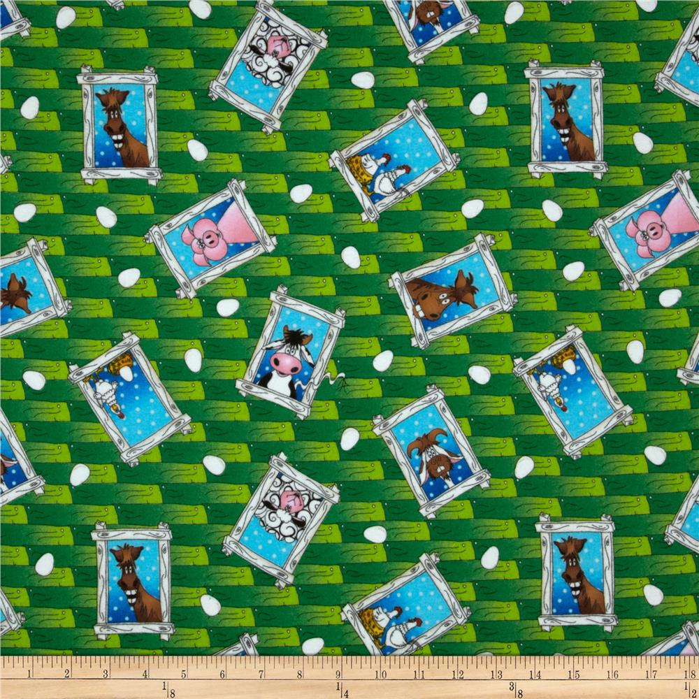 The Farm at Whistle Pig Creek Flannel Animal