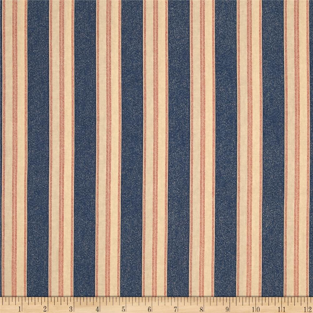 Limited Edition Stripe Denim