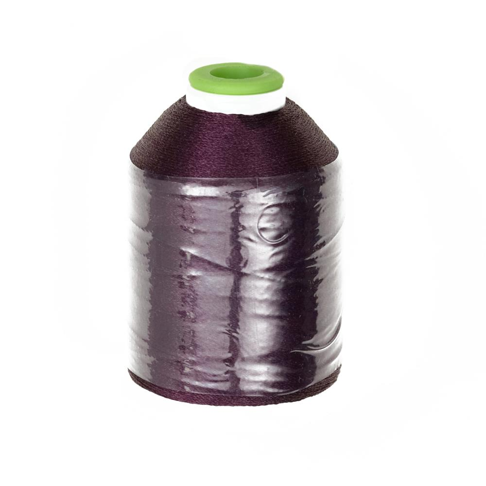 Coats & Clark Trilobal Embroidery Thread 1100 YD Wine Grape