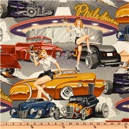 Pin Ups Phil's Drive In Vintage