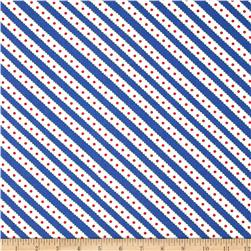 Moda Celebration Stripe Royal
