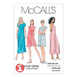 McCall's Misses' Dress In 2 Lengths Pattern M6102