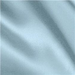 Stretch Charmeuse Satin Baby Blue Fabric
