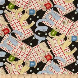 Sew Fun! Notions Black/Multi