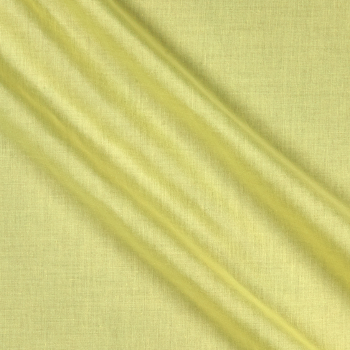 60'' Poly Cotton Broadcloth Light Yellow Fabric by Ben in USA