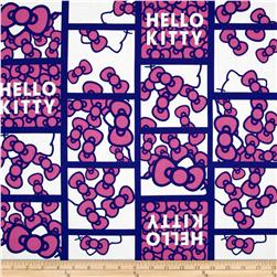 Hello Kitty Patchwork Bows Pink/Blue