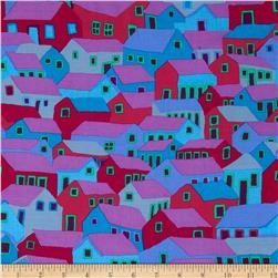 Kaffe Fassett Spring 2014 Collective Mineral Shanty Town