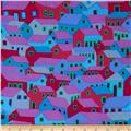 Kaffe Fassett Spring 2014 Collective Mineral Shanty Town Purple