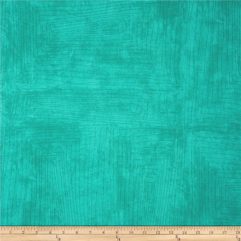 Collage Scratch Texture Aqua